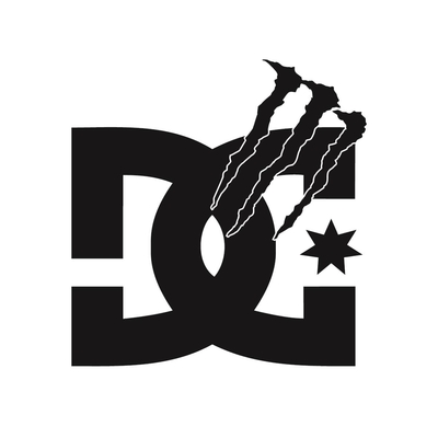STICKERS DC SHOES MONSTER