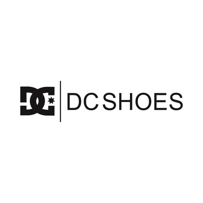 STICKERS DC SHOES LOGO