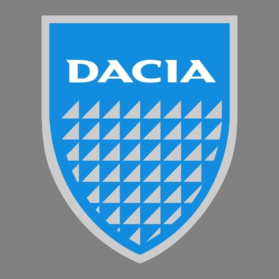 STICKERS DACIA OLD LOGO COULEURS