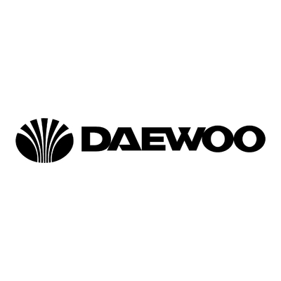 STICKERS DAEWOO LOGO ECRITURE