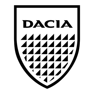 STICKERS DACIA OLD LOGO