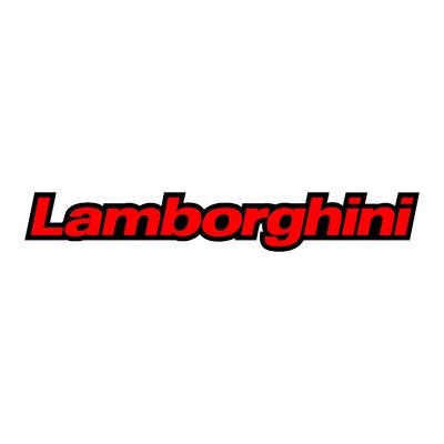STICKERS LAMBORGHINI COULEURS