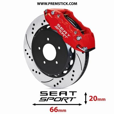 STICKERS ETRIER DE FREIN SEAT SPORT