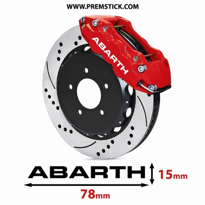 STICKERS ETRIER DE FREIN ABARTH