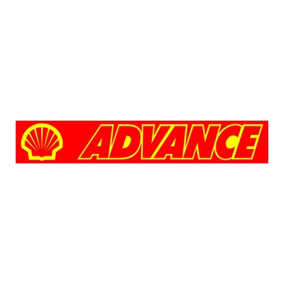 STICKERS SHELL ADVANCE