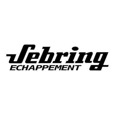 STICKERS SEBRING ECHAPPEMENT