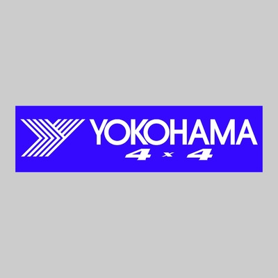 STICKERS YOKOHAMA 4X4