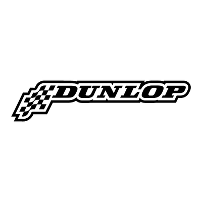 STICKERS DUNLOP FLAG