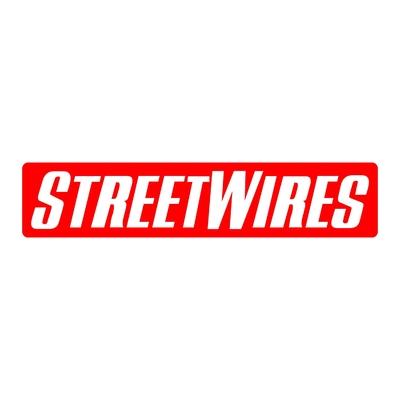 STICKERS STREETWIRES LOGO
