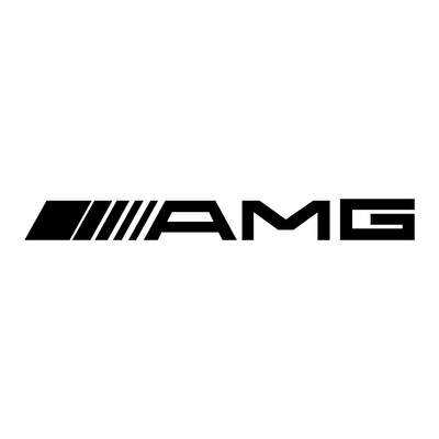 STICKERS AMG LOGO
