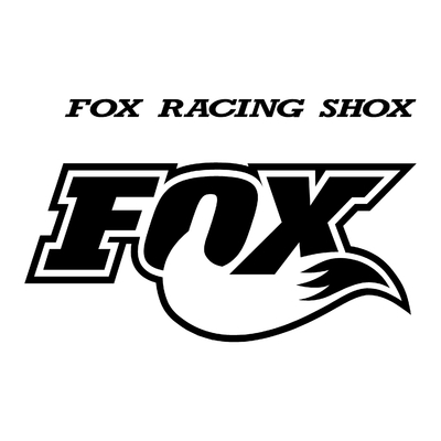 STICKERS FOX RACING SHOX VAR