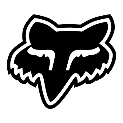 STICKERS FOX LOGO