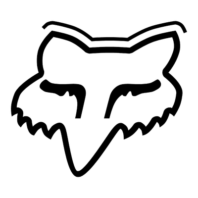 STICKERS FOX LOGO CONTOUR
