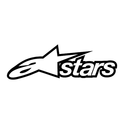 STICKERS ALPINESTARS STARS CONTOUR
