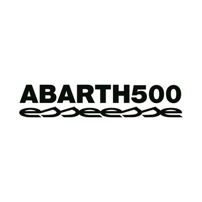 STICKERS ABARTH 500