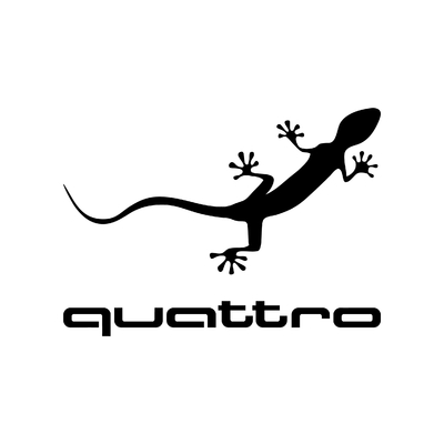 STICKERS AUDI QUATTRO