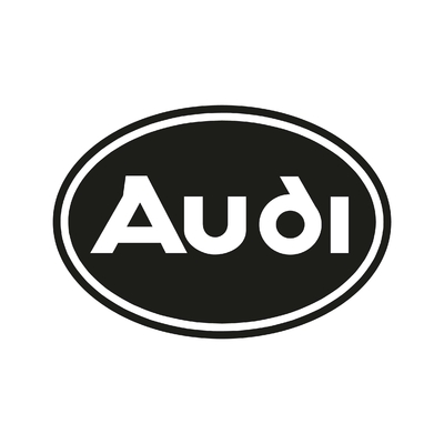 STICKERS AUDI LOGO ROND