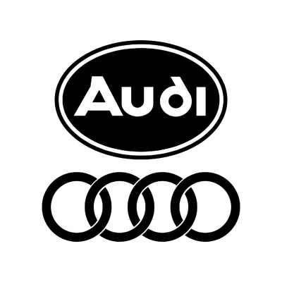 STICKERS AUDI OLD