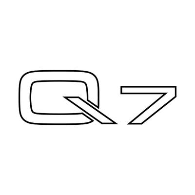 STICKERS AUDI Q7