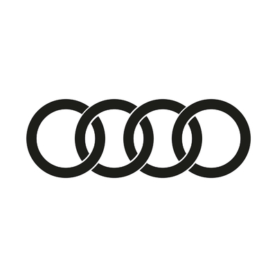 STICKERS AUDI LOGO