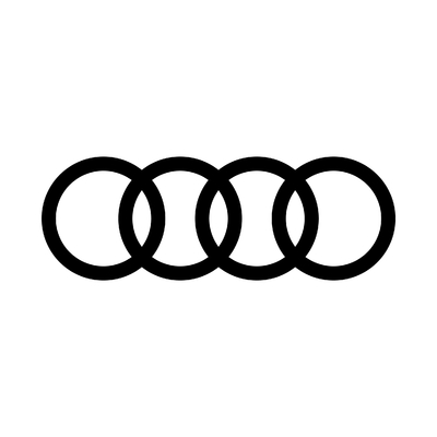 STICKERS AUDI LOGO SIMPLE