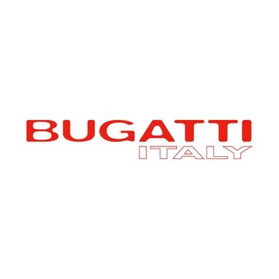 STICKERS BUGATTI ITALY LOGO