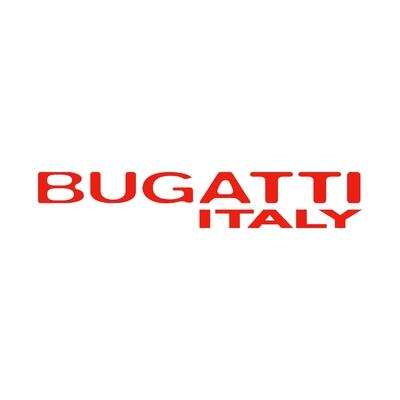 STICKERS BUGATTI ITALY