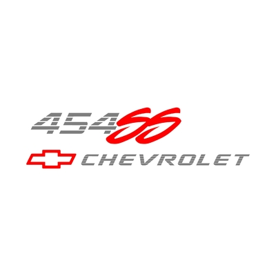 STICKERS CHEVROLET 454 SS