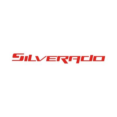 STICKERS CHEVROLET SILVERADO ECRITURE