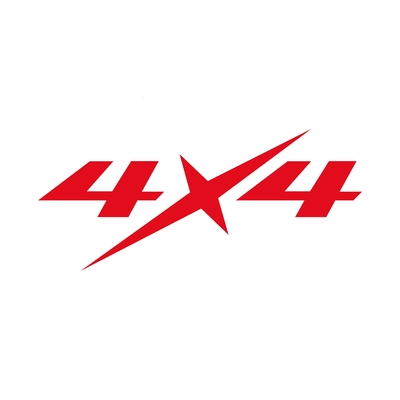 STICKERS CHEVROLET 4X4