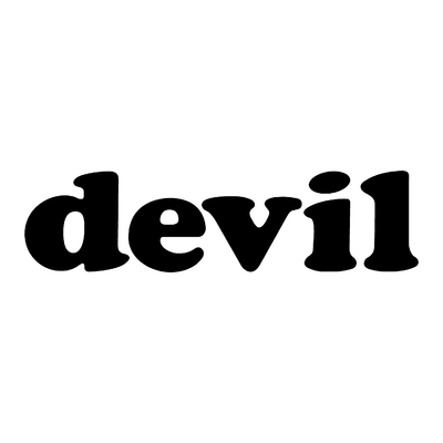 STICKERS DEVIL LOGO