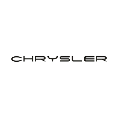 STICKERS CHRYSLER ECRITURE 2