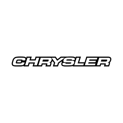 STICKERS CHRYSLER ECRITURE 4