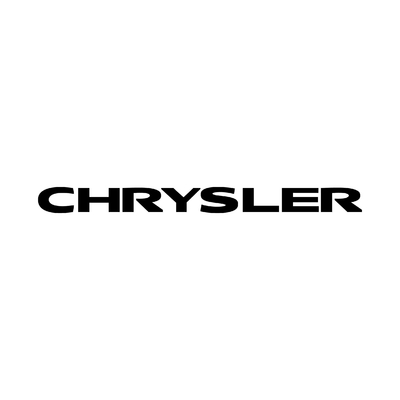 STICKERS CHRYSLER ECRITURE