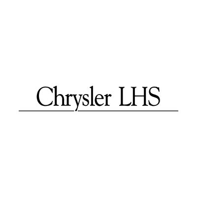 STICKERS CHRYSLER LHS LOGO