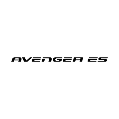 STICKERS CHRYSLER AVENGER ES