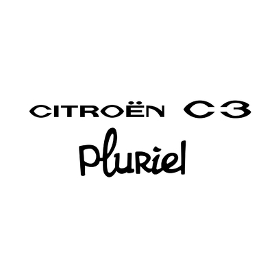 STICKERS CITROEN C3 PLURIEL