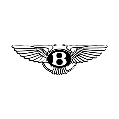 STICKERS BENTLEY LOGO