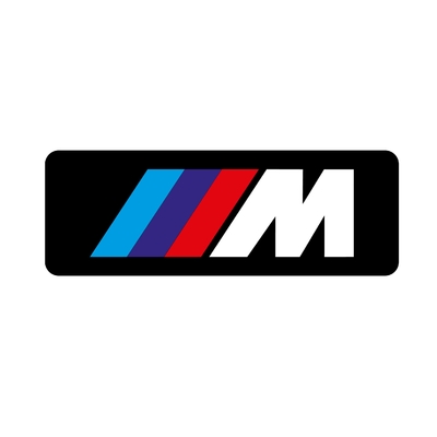 STICKERS BMW M BANDEAU