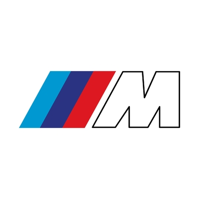 STICKERS BMW M LOGO
