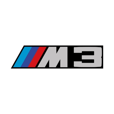 STICKERS BMW M3 COULEURS