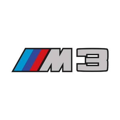 STICKERS BMW M3 LOGO