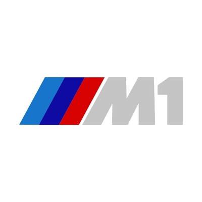 STICKERS BMW M1