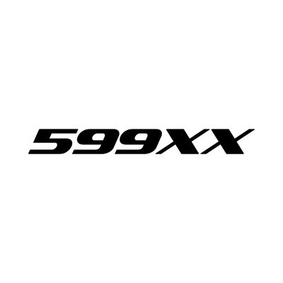 STICKERS FERRARI 599XX