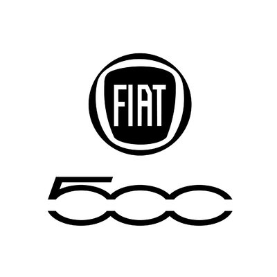 STICKERS FIAT 500 LOGO
