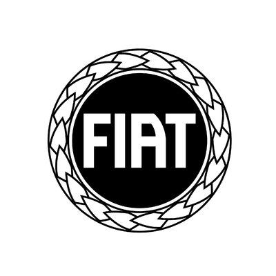 STICKERS FIAT LOGO