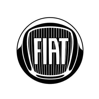 STICKERS FIAT LOGO 2