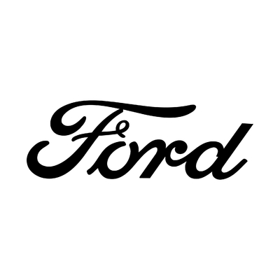 STICKERS FORD ECRITURE