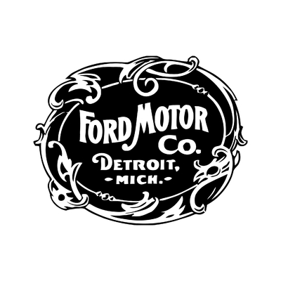 STICKERS FORD MOTOR CO DETROIT