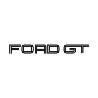 STICKERS FORD GT